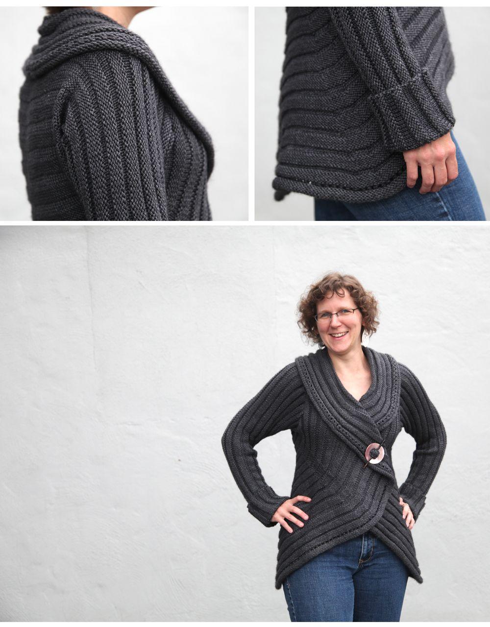 Plum Perfect sweater from Knit, Swirl! knit in Debbie Bliss ...