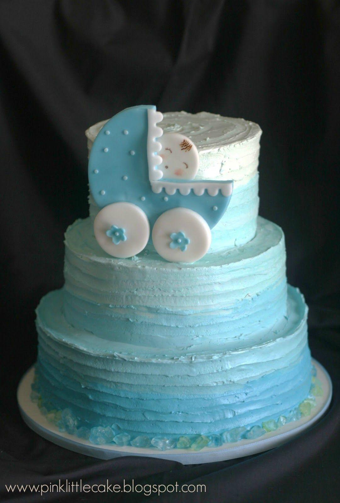 Rustic Baby Shower Sheet Cake : rustic, shower, sheet, Little, Cake:, Rustic, Ombre, Shower, Cake,, Sheet, Cakes,