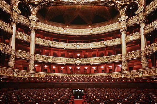 The Palais Garnier Paris Opera House Opera Garnier Paris Opera Garnier