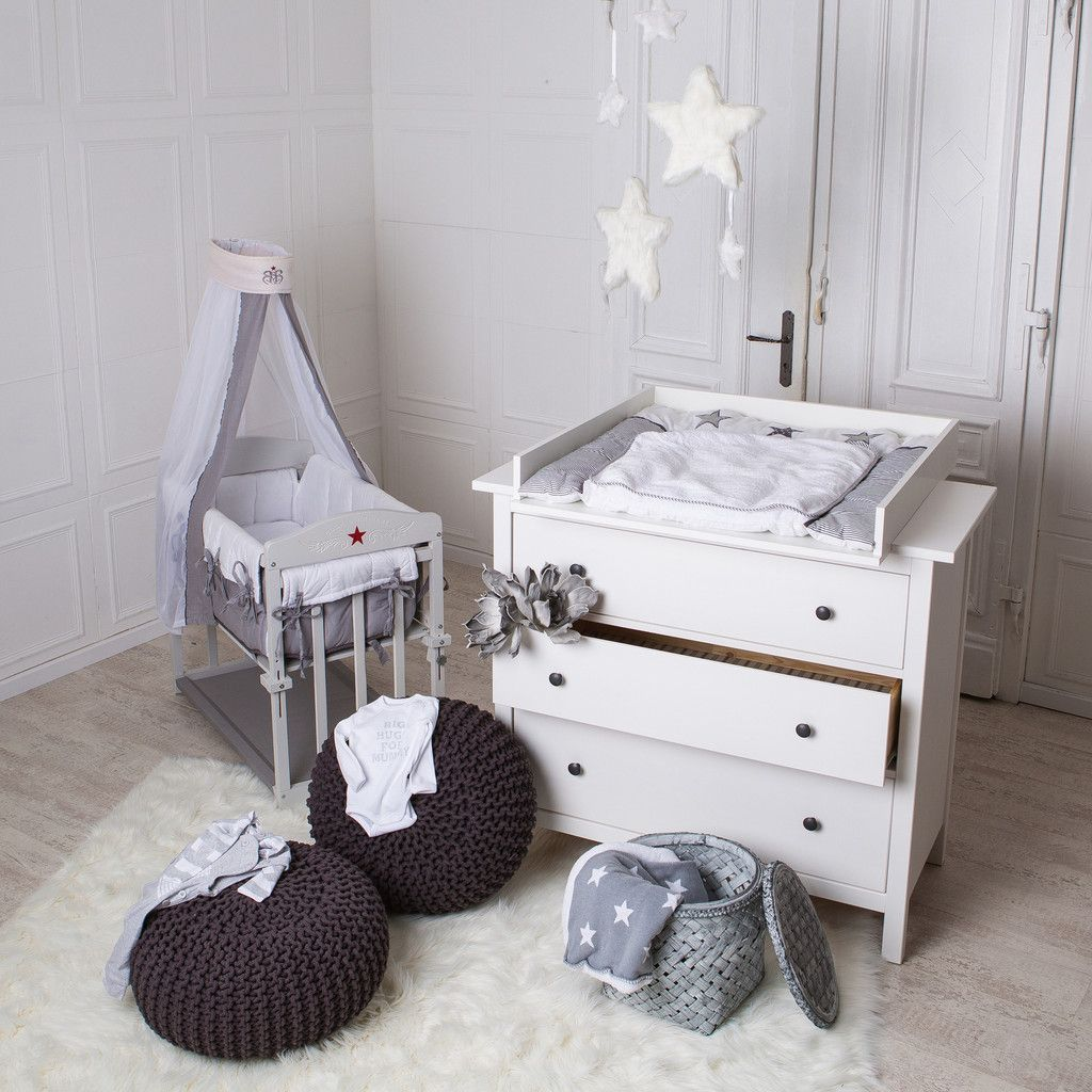 Babyzimmer ikea  Birkeland, Tyssedal, Herefoss Wickelaufsatz IKEA Kommode | Baby ...