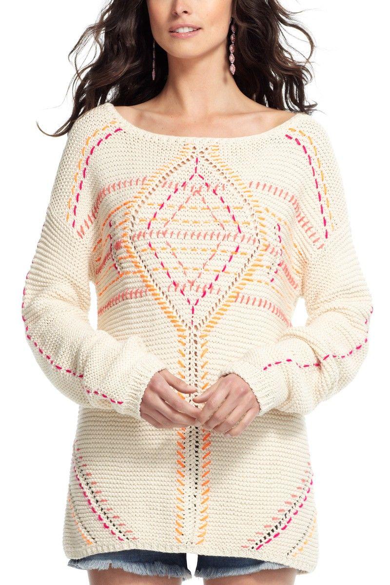 Antik Batik Dexter Hand-knit Cotton Sweater