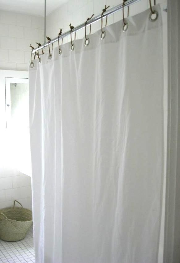 Diy Leather Shower Curtain Rings Remodelista Cool Shower Curtains Diy Shower Curtain Duck Shower Curtain