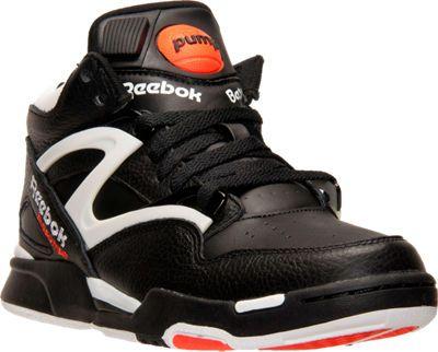 Men's Reebok Pump Omni Lite Retro Basketball Shoes   Finish