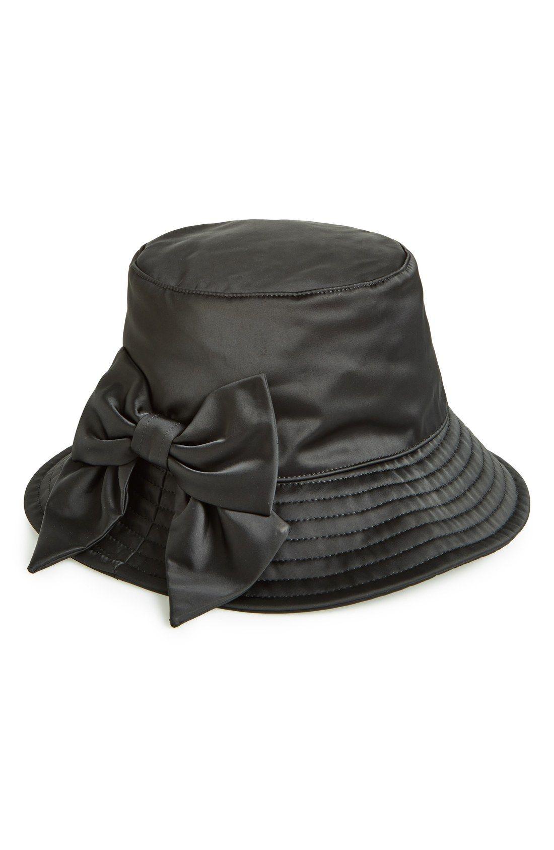 959998d7323 kate spade new york 'dorothy bow' rain hat | Rain, Rain Go Away ...