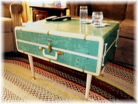 Retro Suitcase Coffee Table