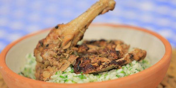Cbc Sofra طريقة عمل أرز أربوريو بالخضرة اماني رفعت Recipe Chicken Beef Food