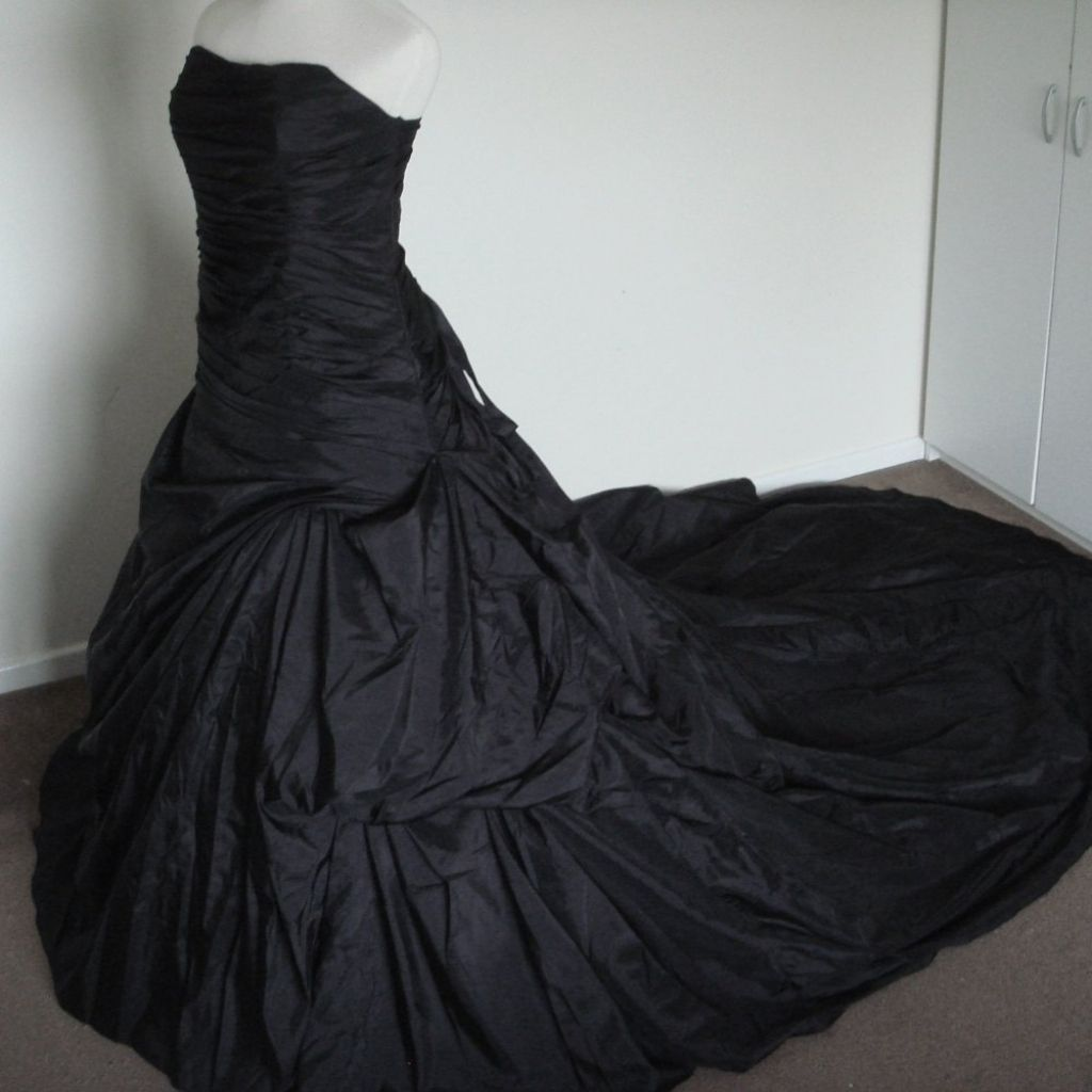 Black gothic wedding dresses wedding dresses halfalive