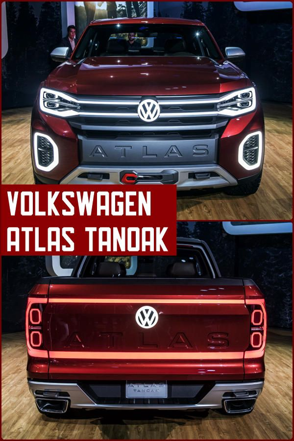 Volkswagen Atlas Tanoak pickup truck | New York Auto Show | World ...