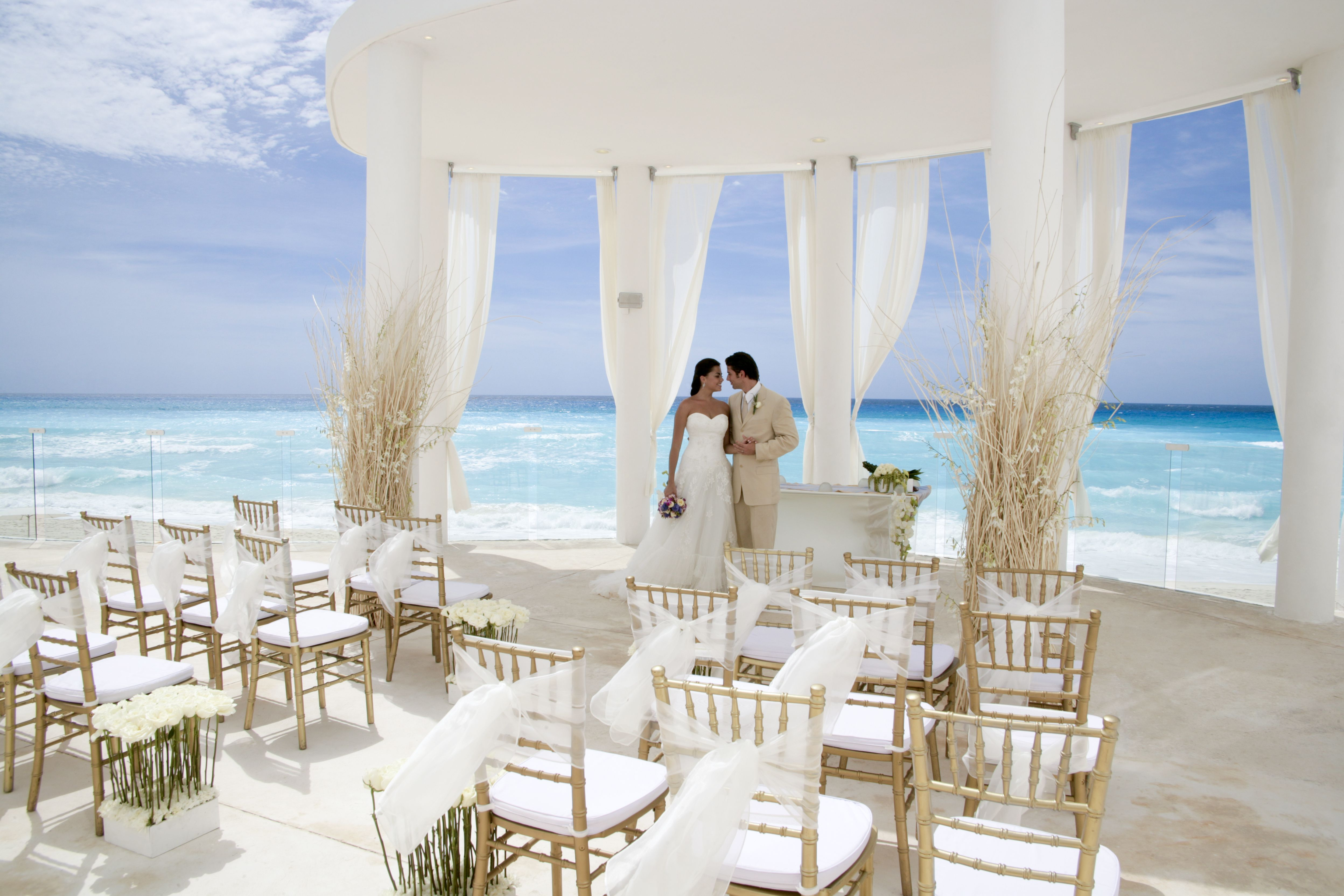 Weekend Destination Wedding At Le Blanc Spa Resort