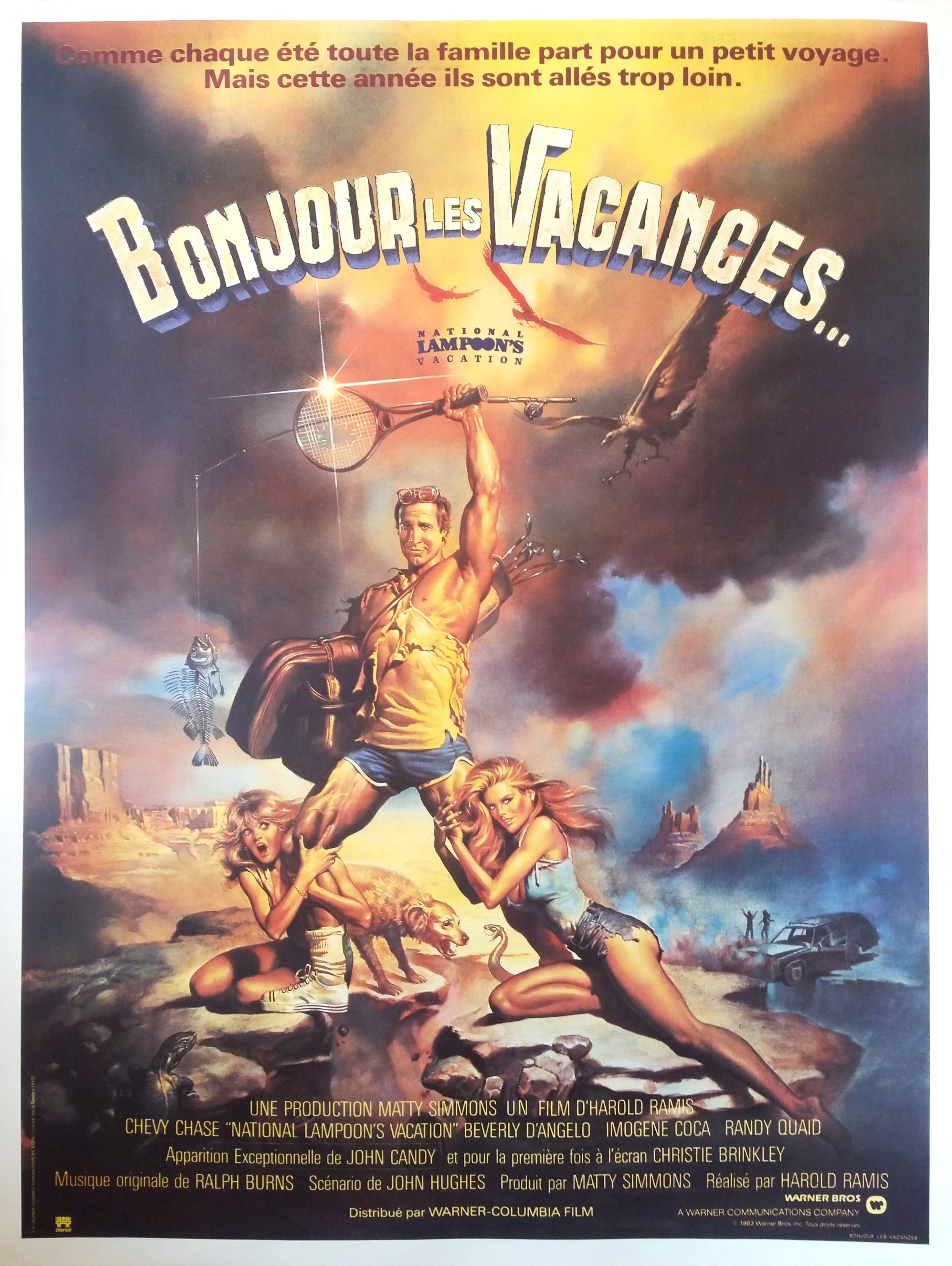 """""""National Lampoon's Vacation"""" #Original Film Poster From"""