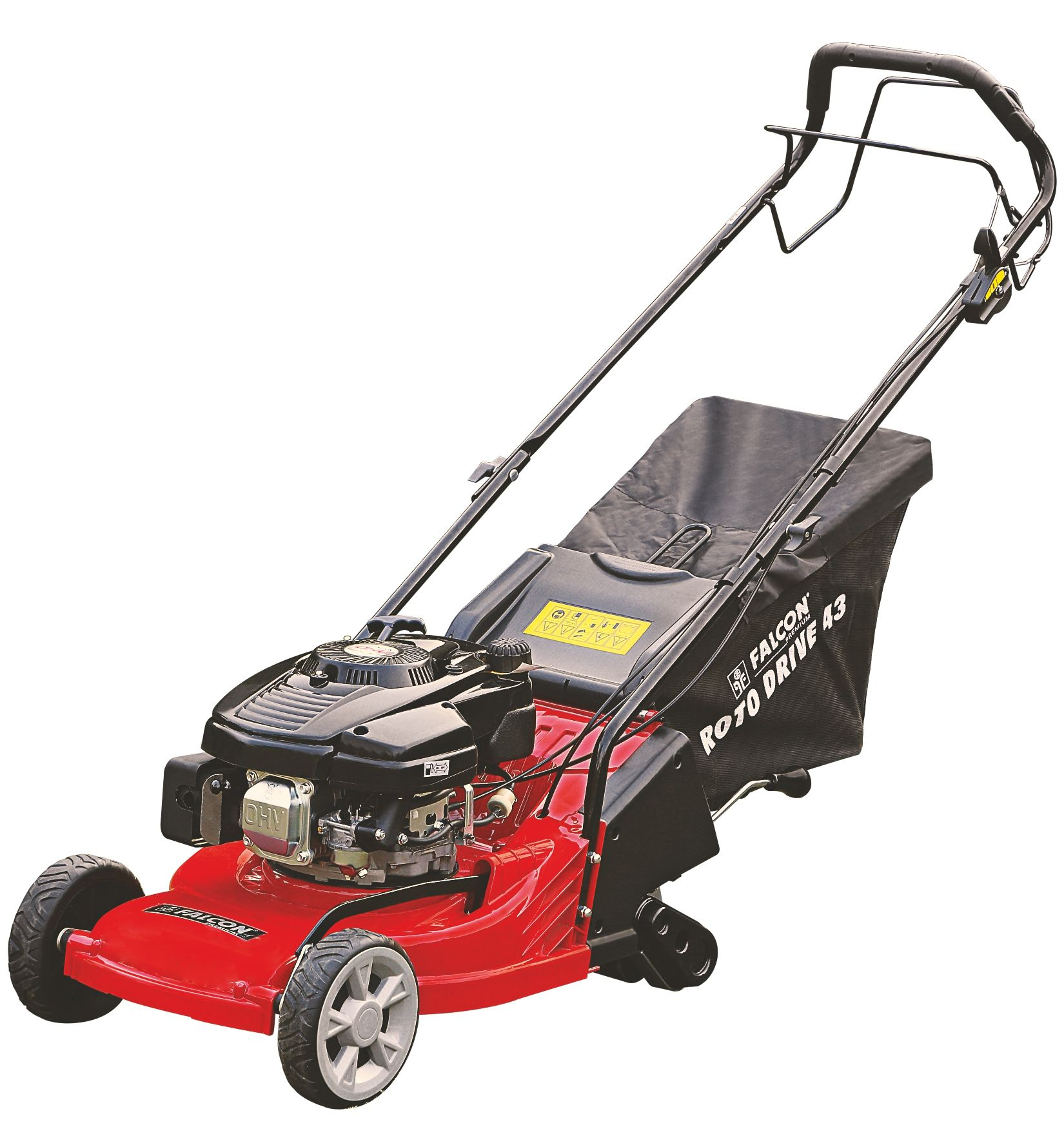 FALCON ROTARY LAWN MOWER Roto Drive 43 Engine 4hp Cut Width 17