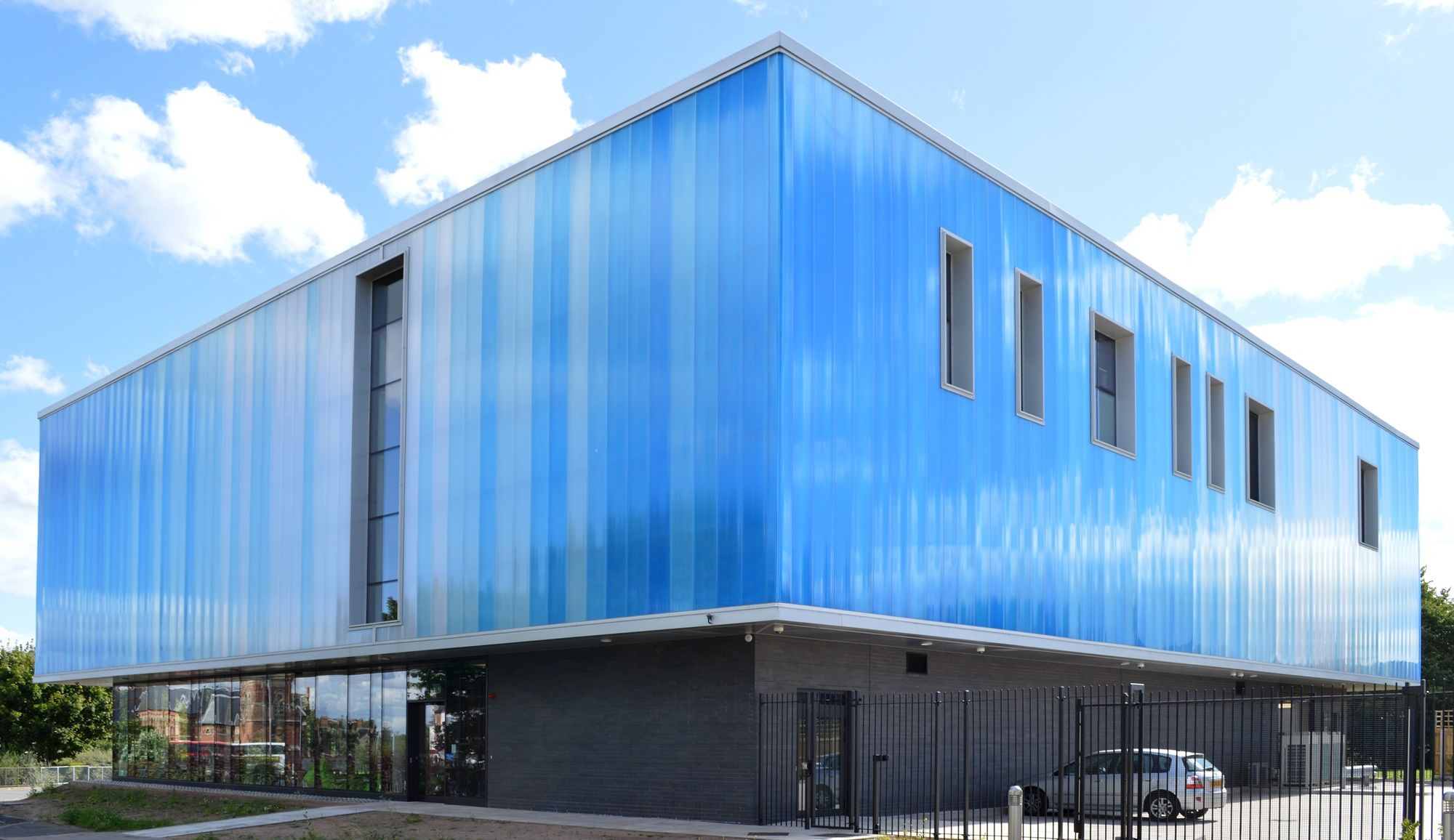 Rainscreen cladding by Rodeca features on a new youth ...