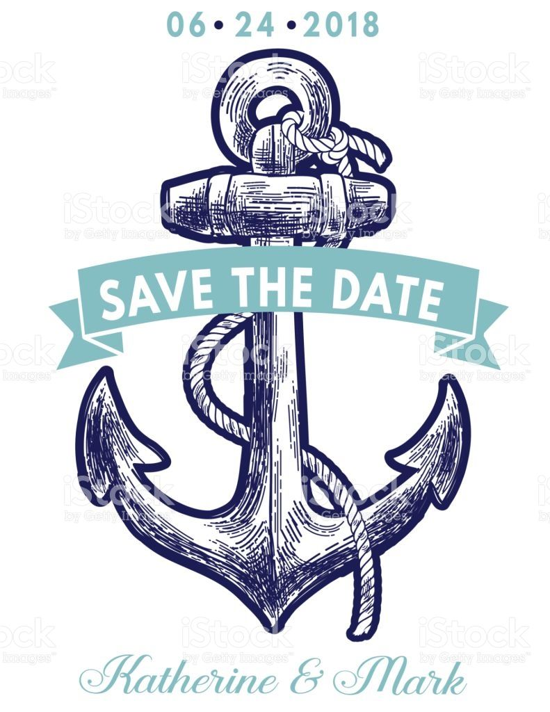 Nautical Theme Party Invitation. Features sailing or nautical ...