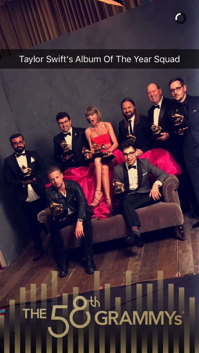Taylor and clues in Grammy 2016