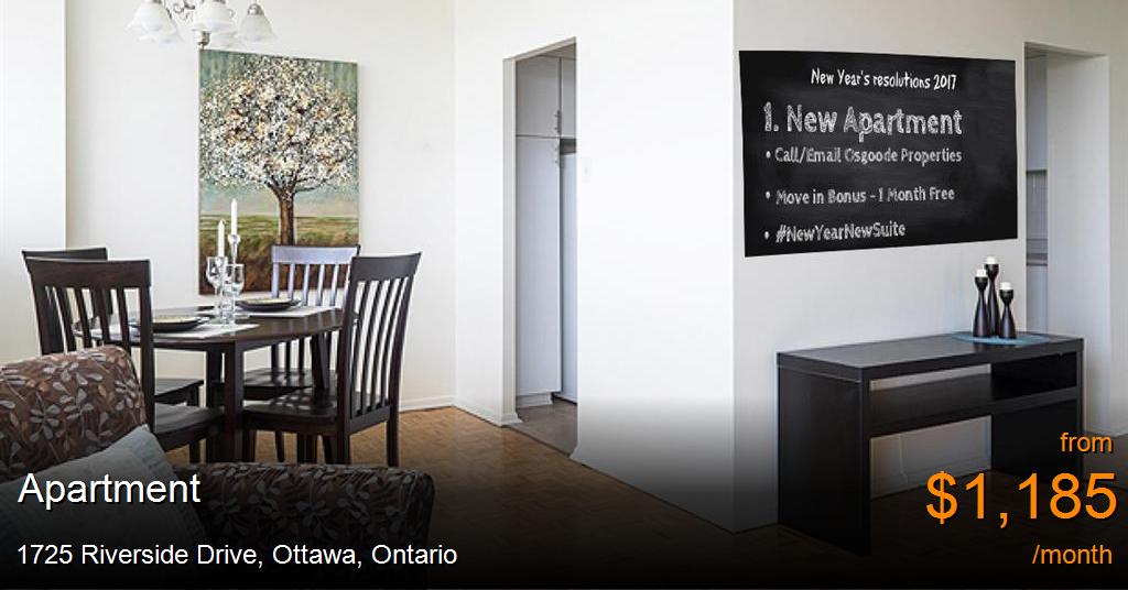 Apartment for rent in Ottawa, $ check it out (With images ...
