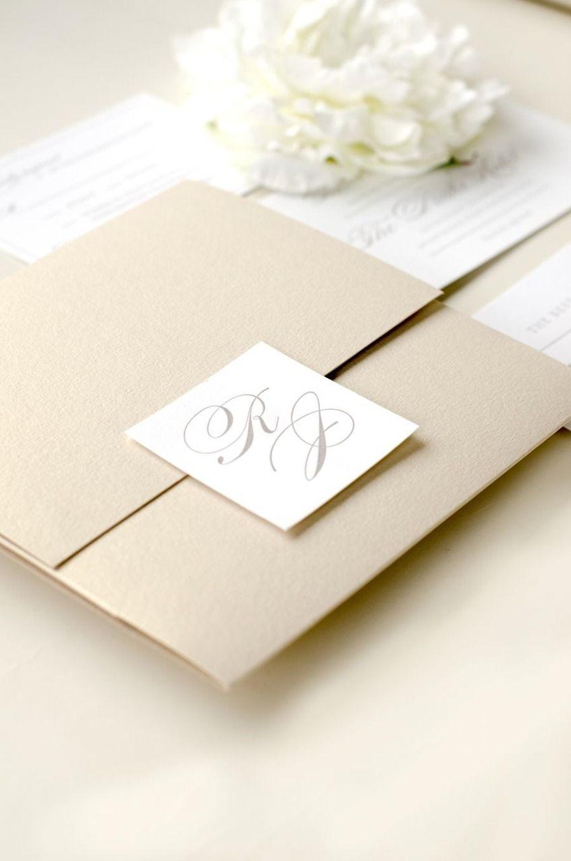 Elegant timeless letterpress wedding invitation black books and