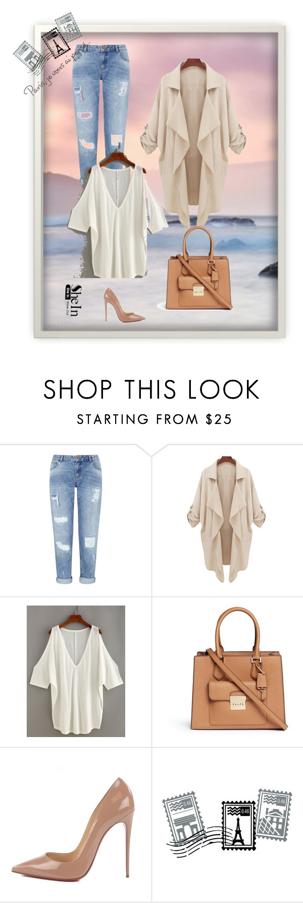 """Shein"" by suzan-2 ❤ liked on Polyvore featuring Seed Design, Miss Selfridge, Michael Kors, Christian Louboutin and Dot & Bo"