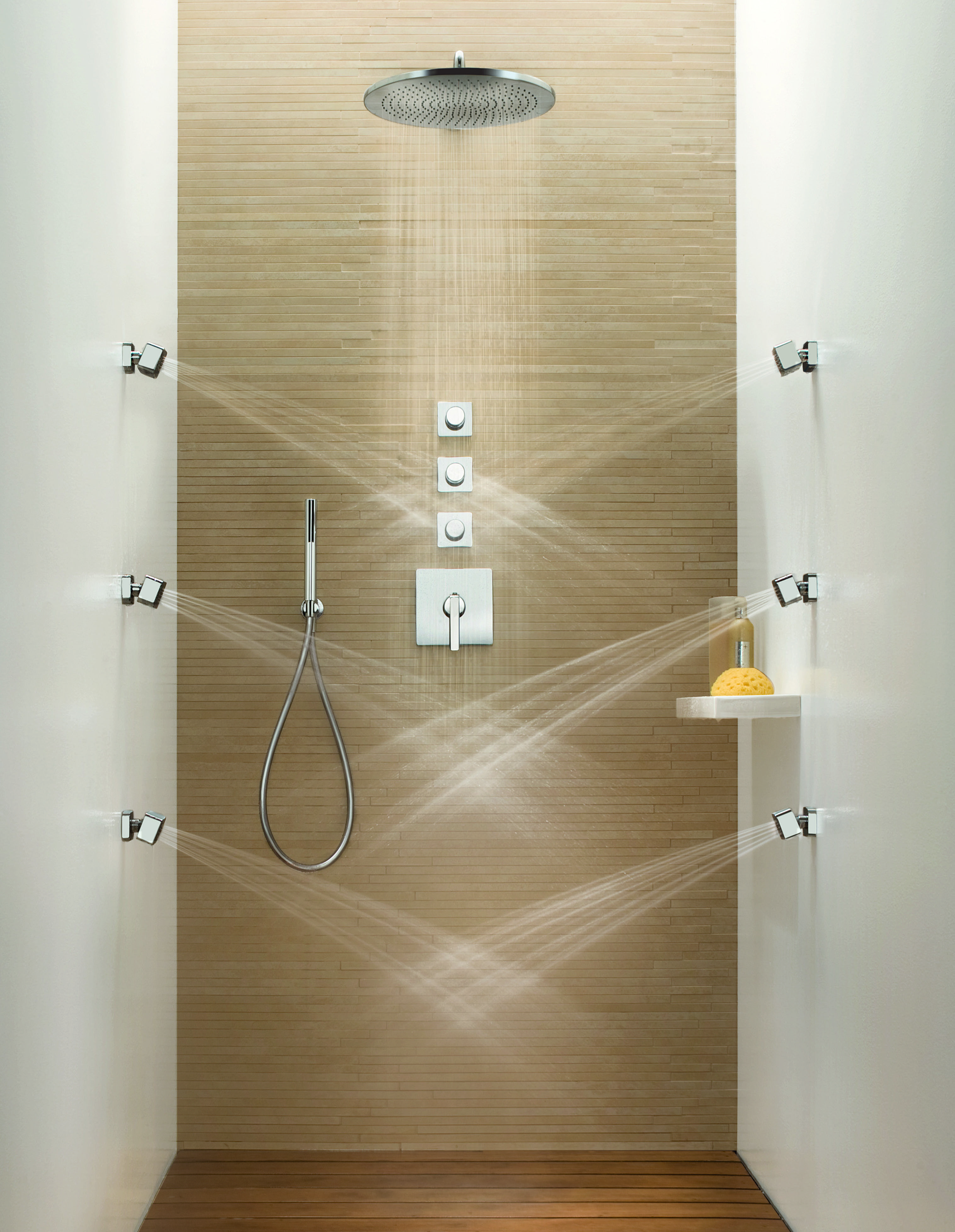 Transitional Dolce Wall Mount Body Spray By Fantini Dream Shower