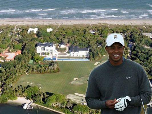 Tiger Woods mette in vendita la sua isola