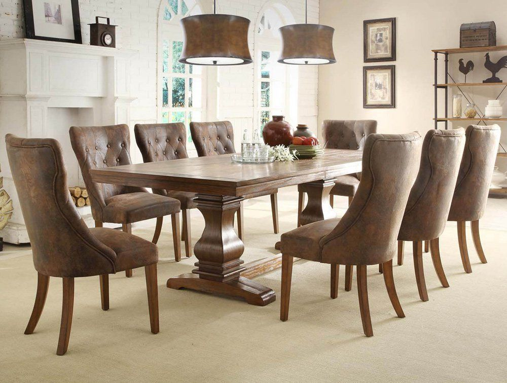 9 Piece Dining Room Table Sets  Few Piece Dining Room Set Interesting 9 Pc Dining Room Sets Inspiration Design