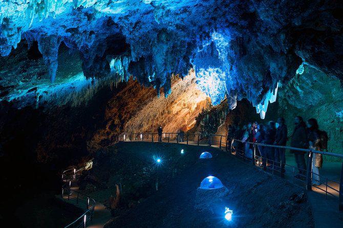 Visitar Cueva El Soplao Cantabria Kamaleon Travel Cuevas Paisajes Espectaculares Grutas