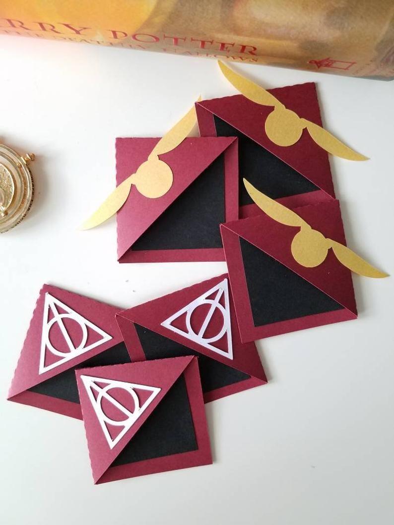 Harry Potter Corner Bookmark - Teacher Gifts #bookspapersandthings