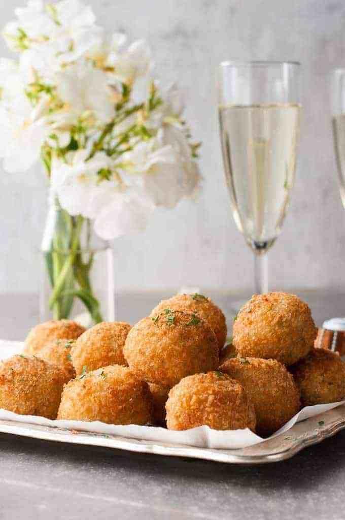 Photo of Cheesy Italian Arancini Balls