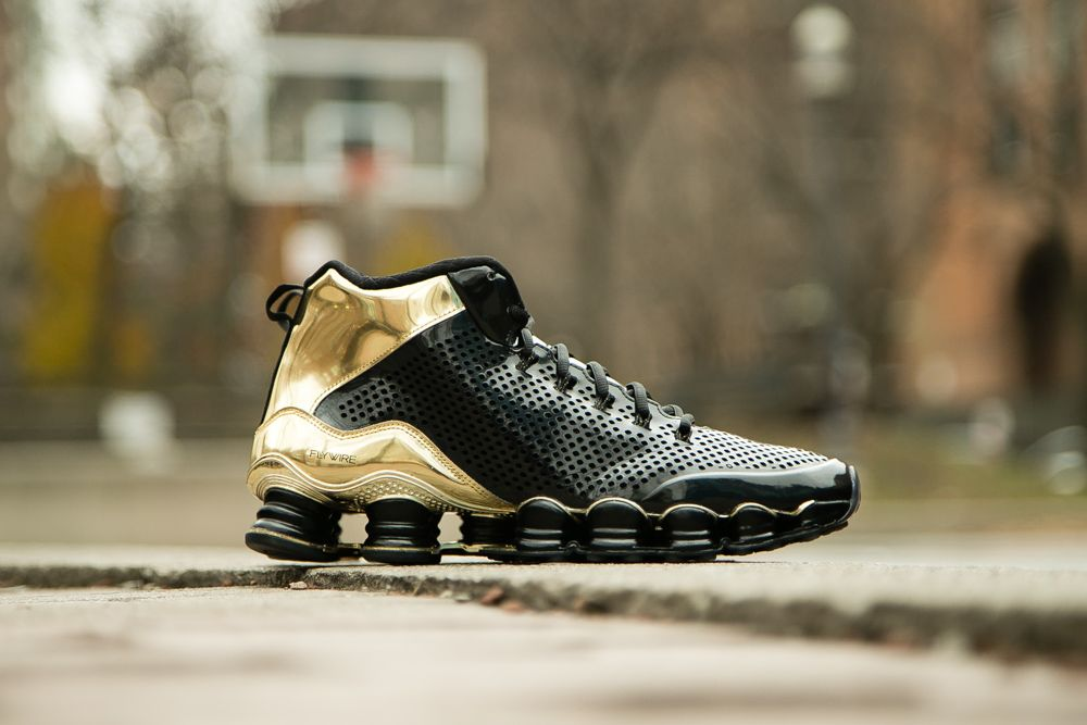check out a71bb d7184 Nike Shox TLX Mid SP Black Metallic Gold