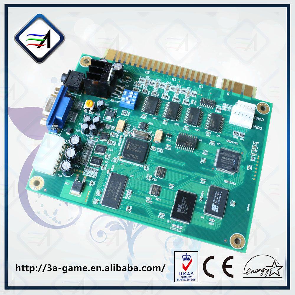 Arcade 60 IN 1 Jamma Multi Game PCB Board For Coin ...