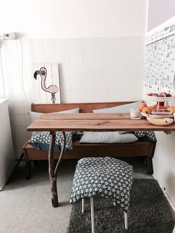 DIY: Dieser Küchentisch hat Stil und wurde außerdem selbst ...