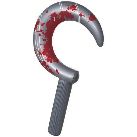 24 inch Inflatable Sickle Halloween Decoration, Multicolor