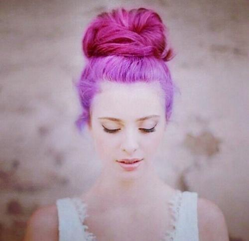 Have faith, be yourself #crazy #grunge #hair style