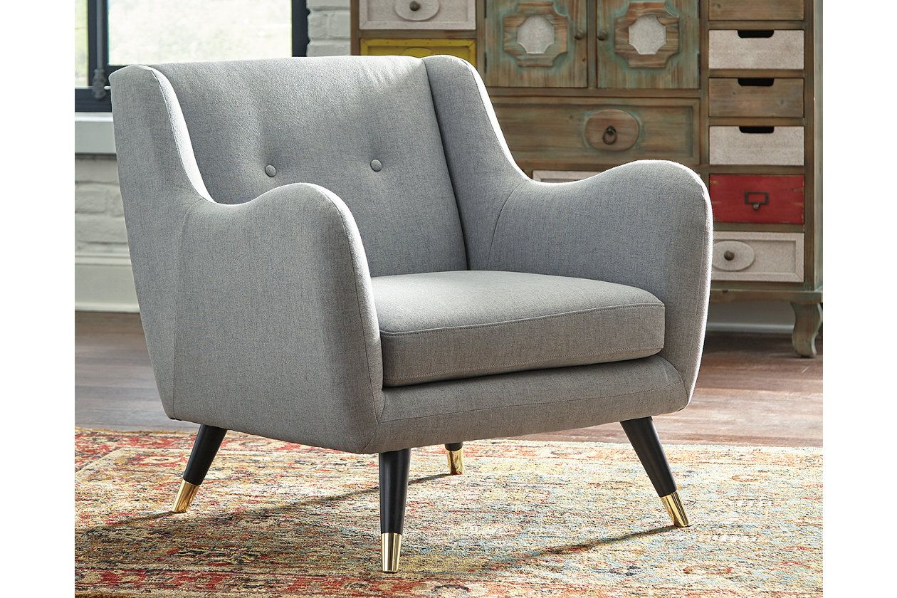 Menga Accent Chair Front Room New House Grey Accent Chair