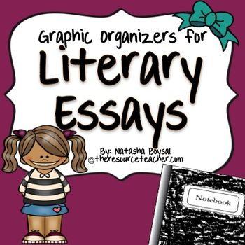 literary essay graphic organizers graphic organizers kids  literary essay graphic organizers