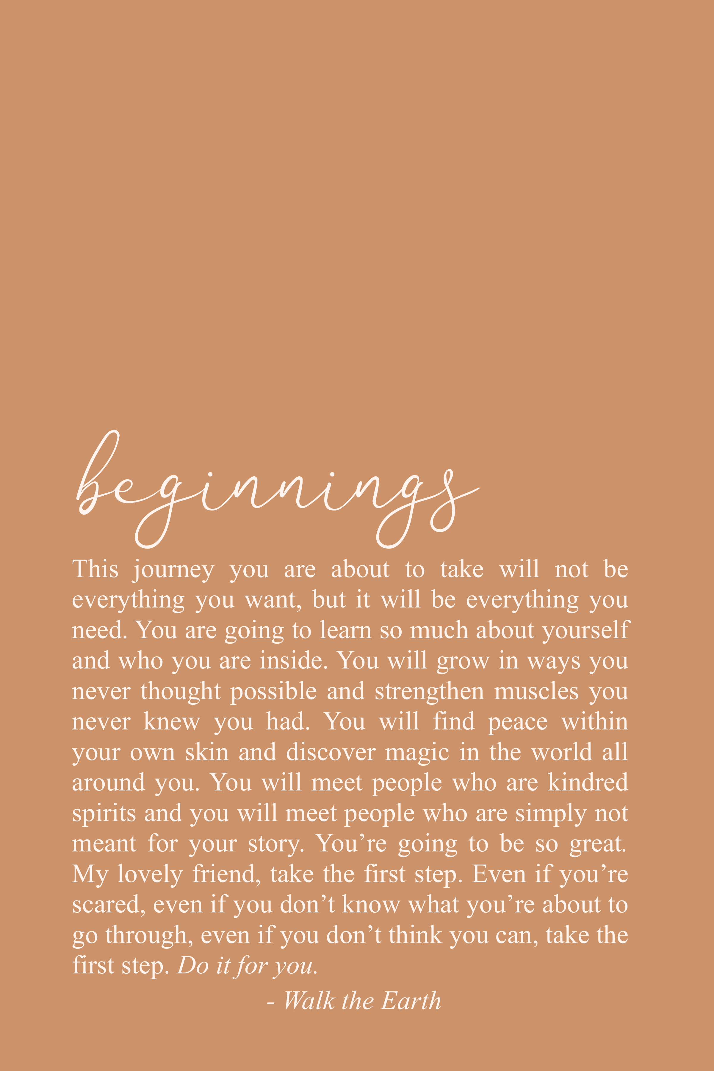Beginnings, New Year, Inspirational Quotes, Be Brave, Inspiring Words & Poetry #quotesaboutstayingpositive