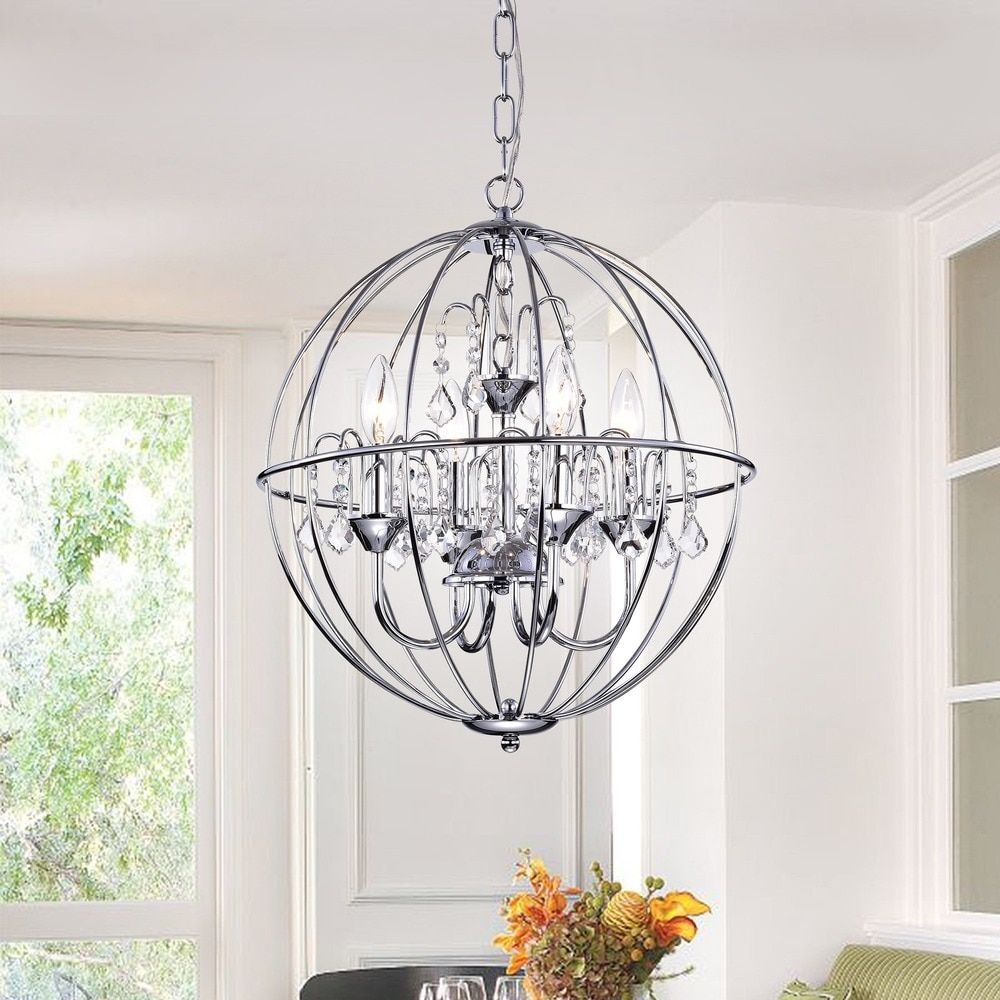 crystals mirror crystal modern lights with picture of sphere lighting base foyer stainless steel double chandelier stores brizzo