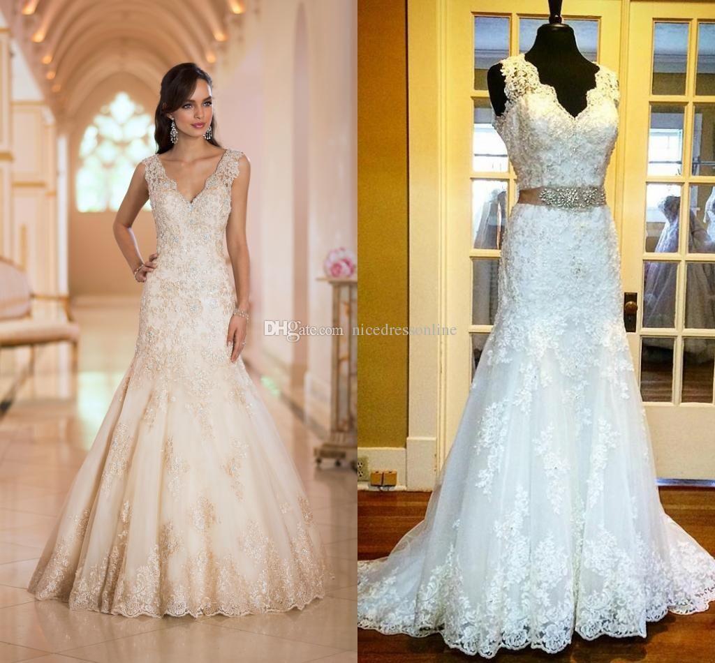 Romantic Sheath Wedding Dress