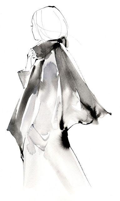 Yoco Nagamiya Fashion Illustrations Illustration De Mode Mode