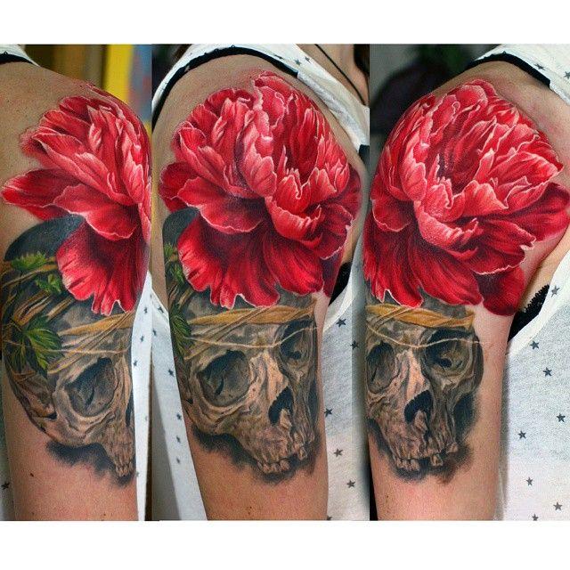 #Ink #Tattoo #Skull #BestDesing
