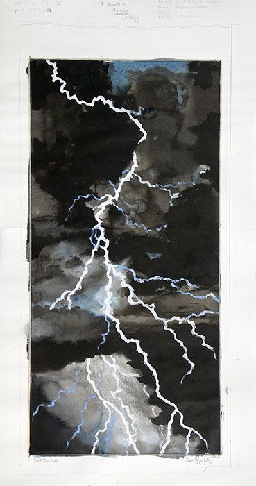 Japanese Art | Paul Binnie | Inazuma - Lightning ...