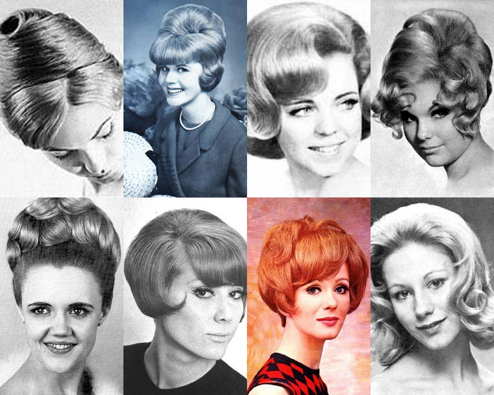 The Red Lipstick 1960s Hairstyles 1960s Hair Teased Hair 1960 Hairstyles