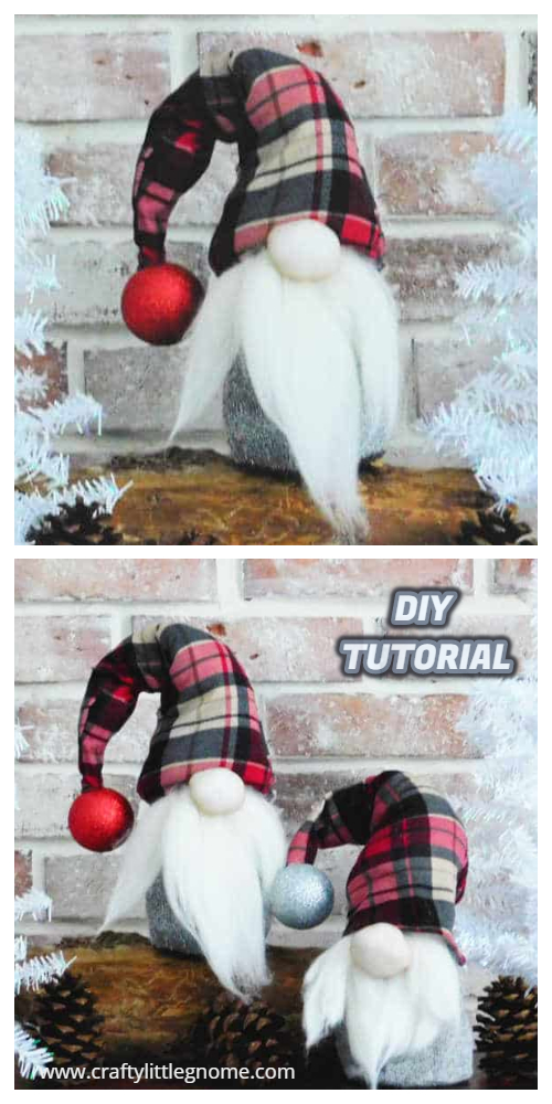 5 DIY Fabric Christmas Gnome Free Sewing Patterns