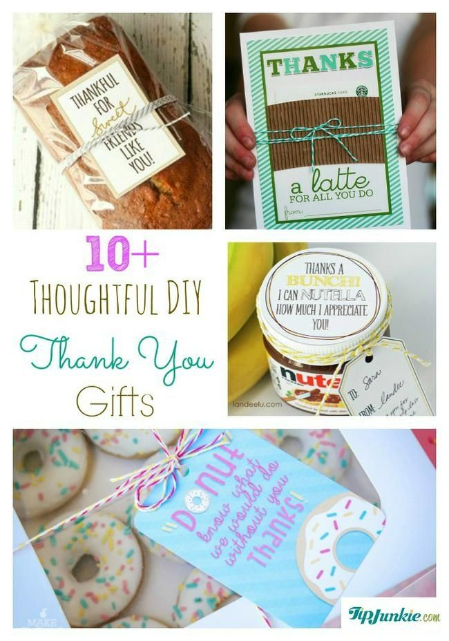 11 Thoughtful Diy Thank You Gifts Homemade Gift Ideas