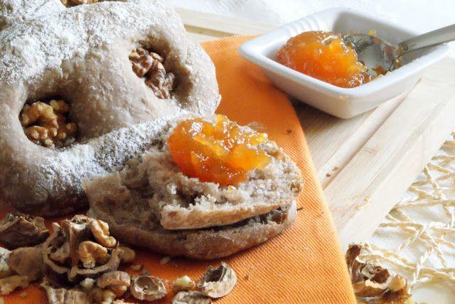 Intrusa na Cozinha: Pão de nozes - World Bread Day #7