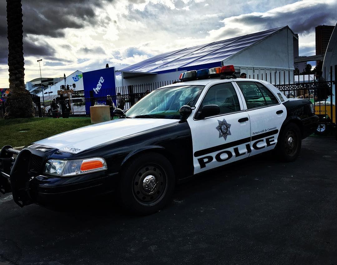Las Vegas Nv Police Ford Cvpi Police Cars