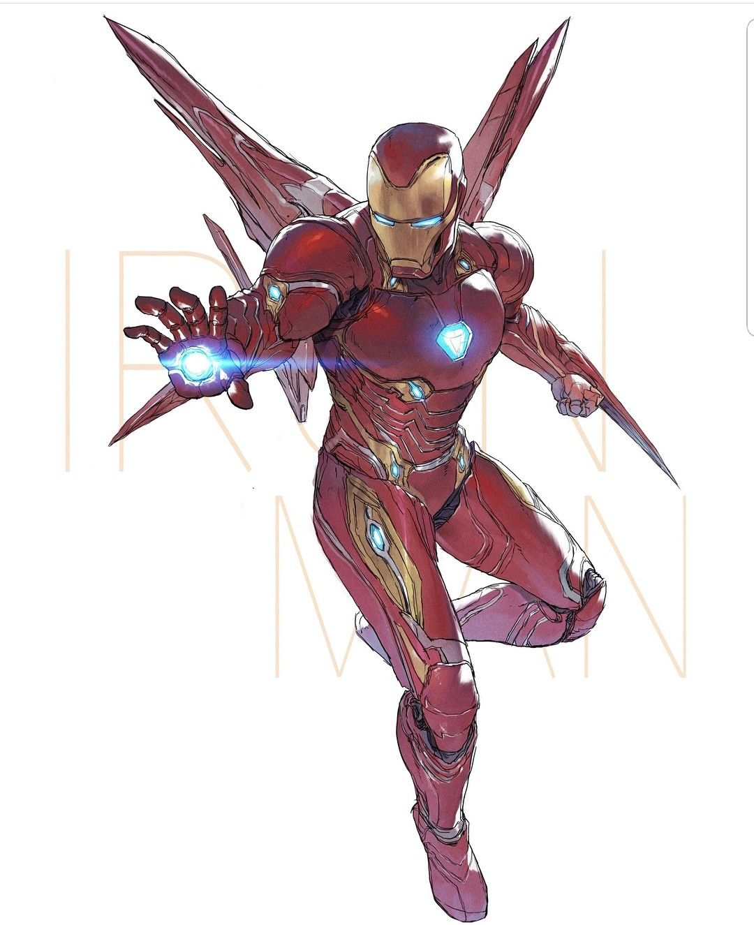 Iron Man Mark 50 Infinity War Marvel Marvel Marvel Comics