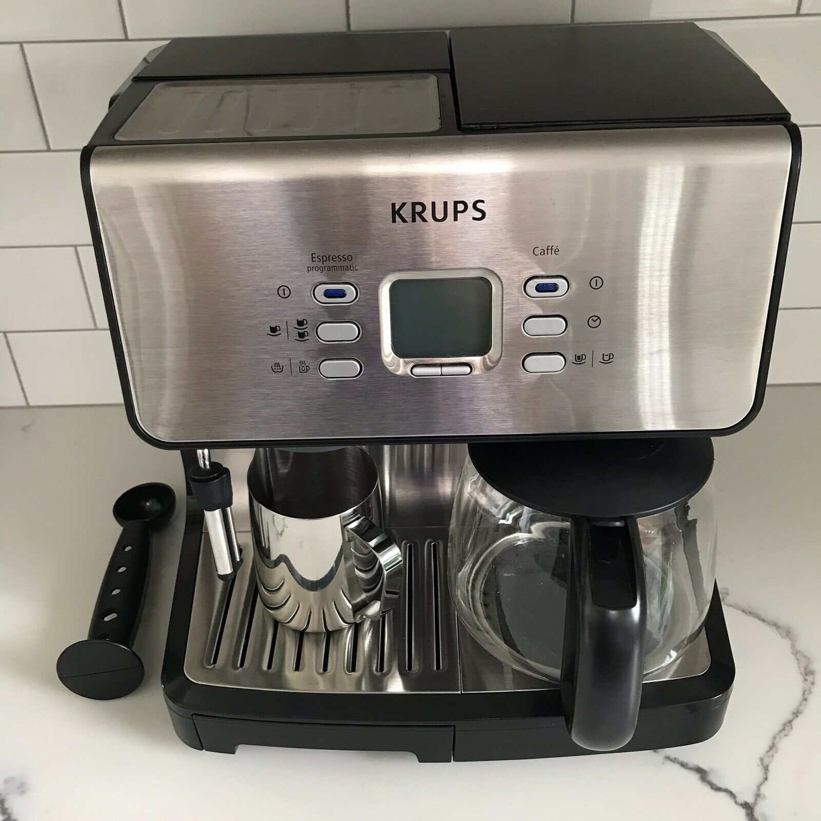Details About Krups Xp 2070 Programmable Espresso 10 Cup Coffee