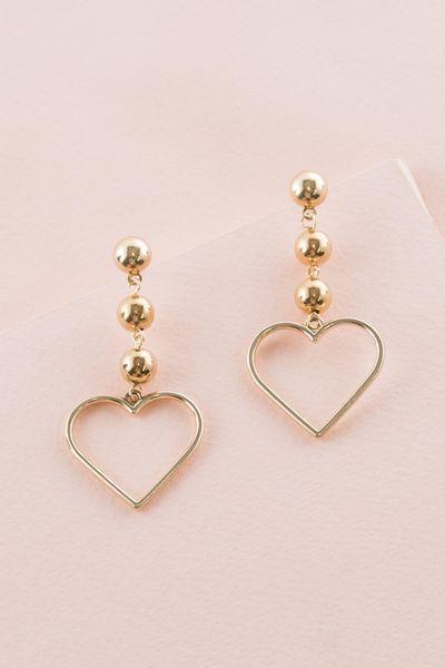It's a Fling Drop Earrings | Gold (10K)