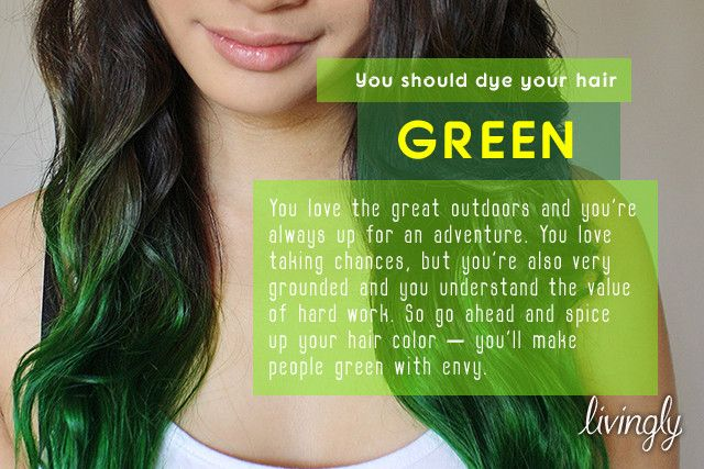 What Crazy Color Should You Dye Your Hair?   Hair quizzes ...