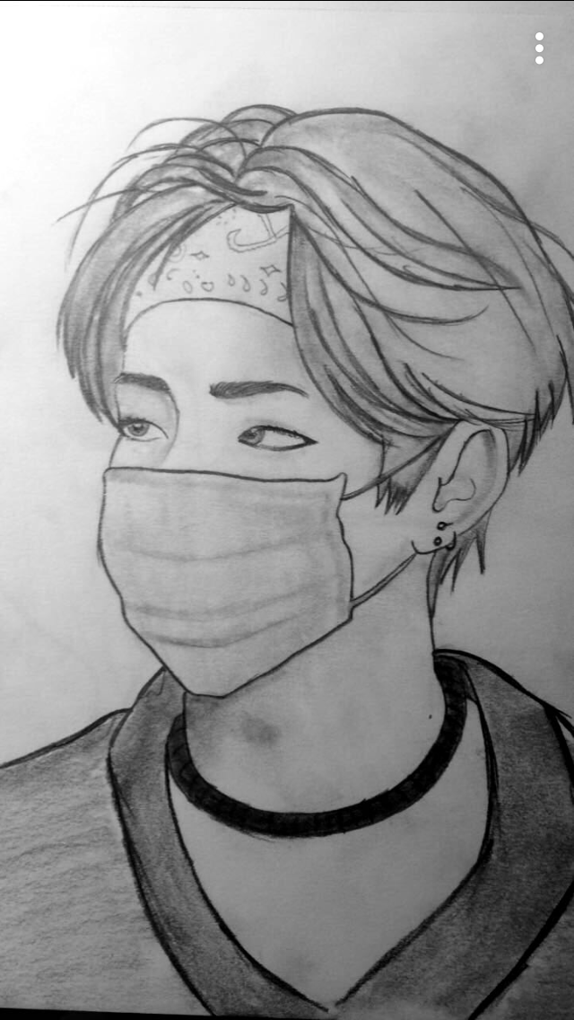 Pin By Keoni On Bts Bts Taehyung Bts Facile A Dessiner